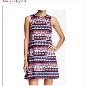 American Apparel Aztec Dress XS